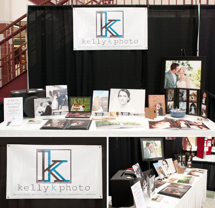 Photography Booth At Craft Fair