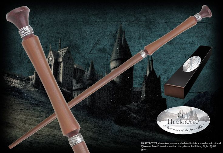 Pius Thicknesse's Character Wand - The Noble Collection