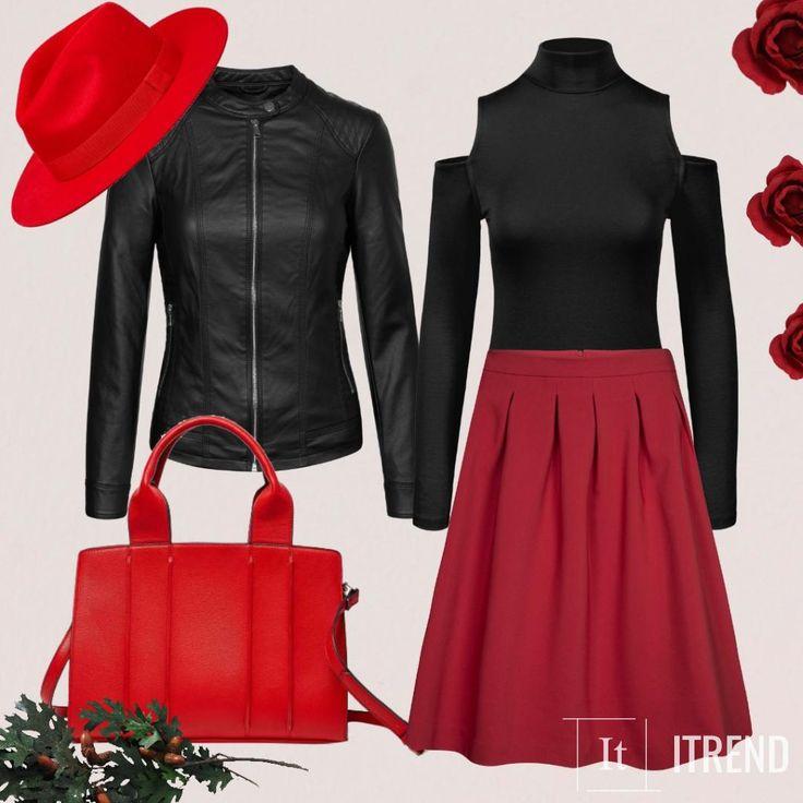 Красная шляпа превратит тебя в роковую красотку. Она будет фишкой любого образа.