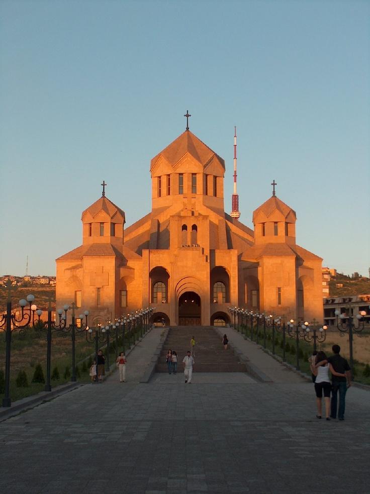 Surp Krikor Lusavorich church, Yerevan  Armenian ...
