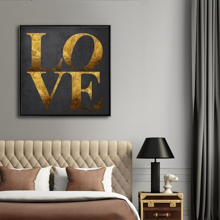 LOVE IS GOLD MAKE ME CRAZY love,typography,wallart,canvas,canvas print,home decor, wall,framed prints,framed canvas,artwork,art