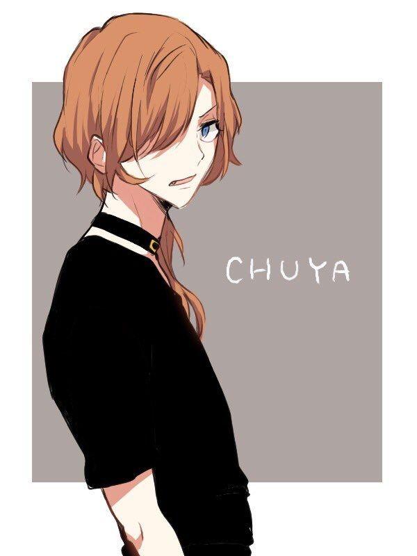 Awww look at Chuuya<3