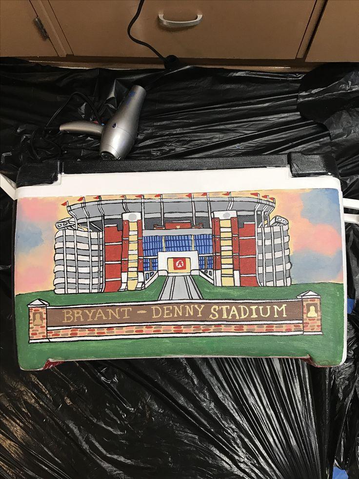 Bryant Denny Stadium   #alabama #formal #cooler #rolltide #fraternity #oldrow #formalcooler