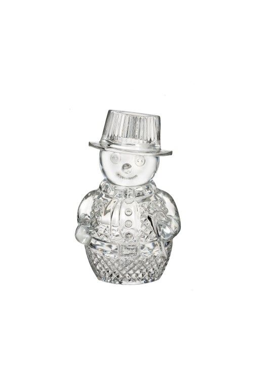 Waterford Snowman Sculpture at Waterford Wedgwood Royal Doulton, Tanger Outlets, San Marcos, TX or call 1-800-203-4540 or 512-396-4025.  We ship.