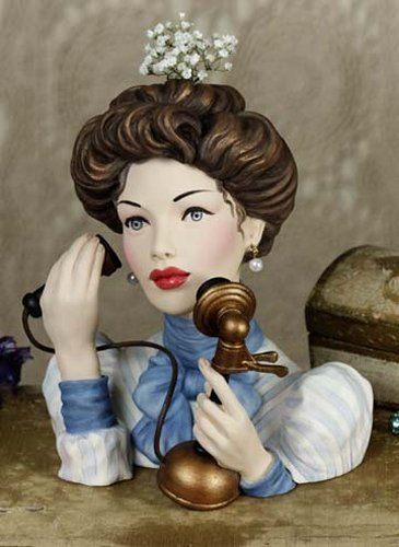 231 Best Vintage Ceramic And Pottery Ladies Heads Images On Pinterest Half Dolls Wall Pockets