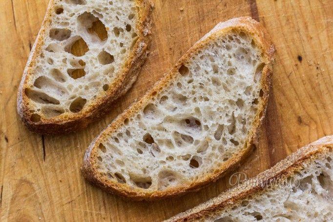 Špaldový chlieb z kvásku
