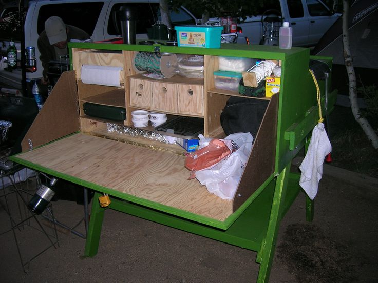 find this pin and more on chuck box kitchen - Camping Kitchen Ideas