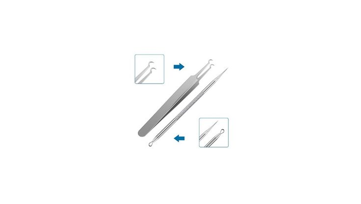 Blackhead & Blemish Remover Pimple Comedone Extractor Tool for $6.99 at Amazon
