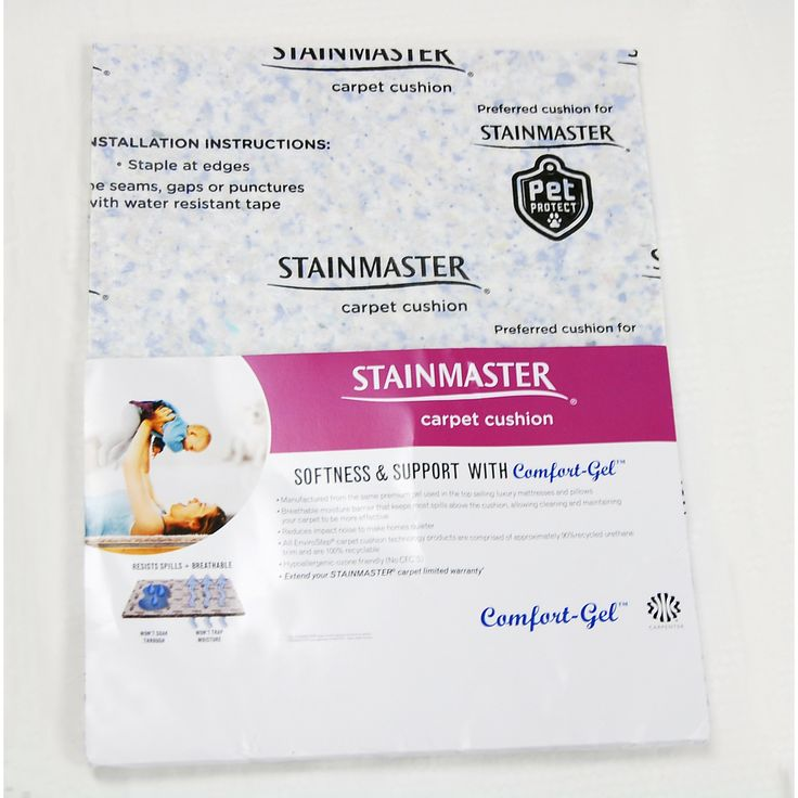 STAINMASTER 12.7mm Rebond Carpet Padding