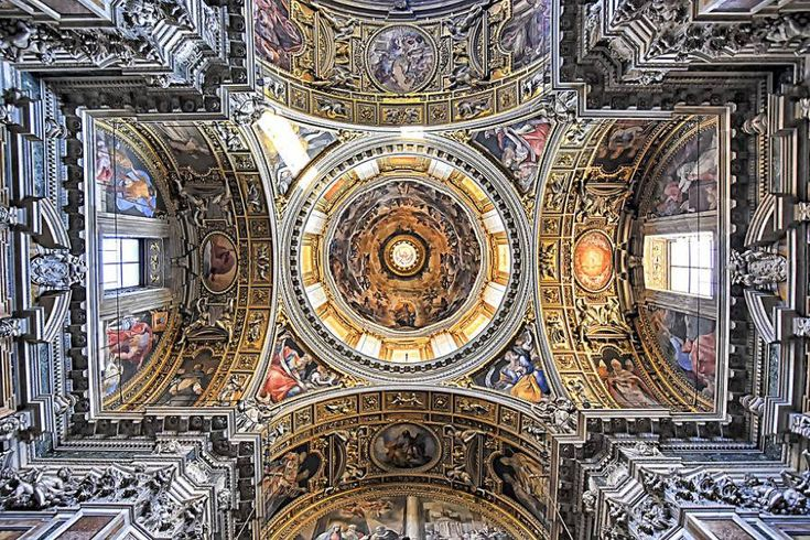 Ceilings of Roman Churches
