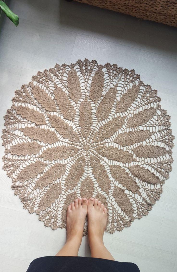 떡갈나무 도일리/도일리/doily  crochet