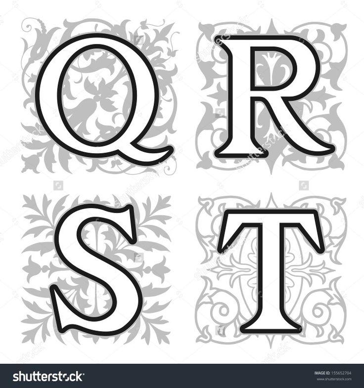 32 besten LETRAS. Bilder auf Pinterest | Alphabet buchstaben ...