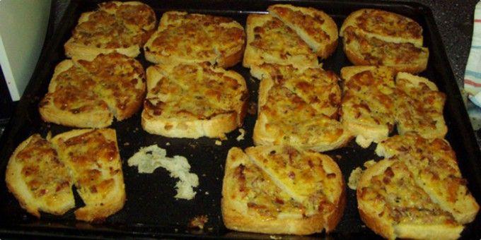 Heiße überbackene Toasts aus der Kindheit   Top-Rezepte.de