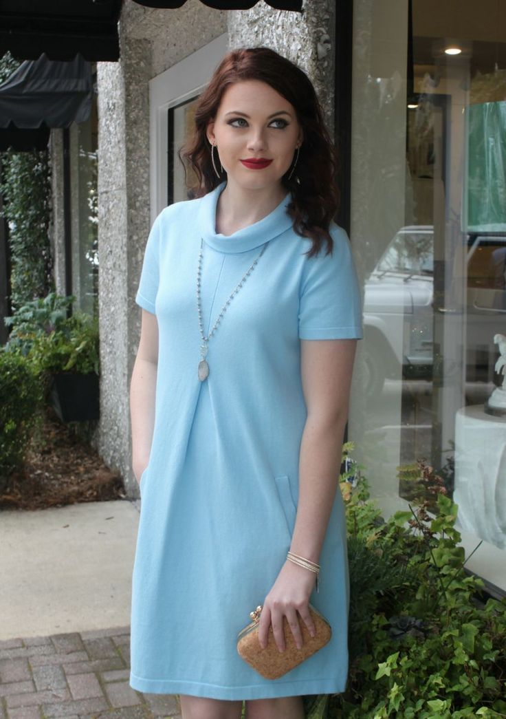 Tyler Boe Carolina Blue Dress