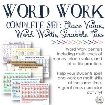 Launching Permanent Word Work Centers {Week 2} - 3rd Grade Thoughts