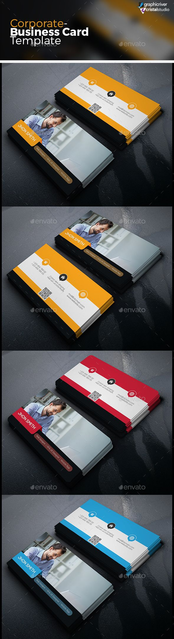 85 best Creative Market Business Card images on Pinterest ...