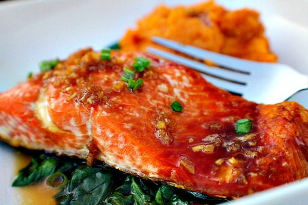 Honey Garlic Sockeye Salmon | A Cork, Fork, & Passport