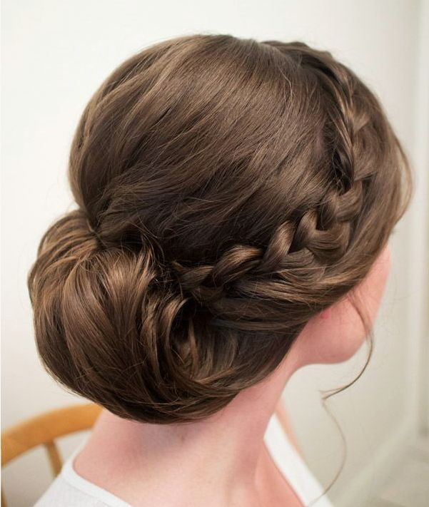 Wedding Hairstyles That Can Make You Superbly Graceful And Elegant. To see more: http://www.modwedding.com/2014/09/17/wedding-hairstyles-can-make-superbly-graceful-elegant/ #wedding #weddings #hairstyle Wedding Hairstyle: Hair and Makeup by Steph