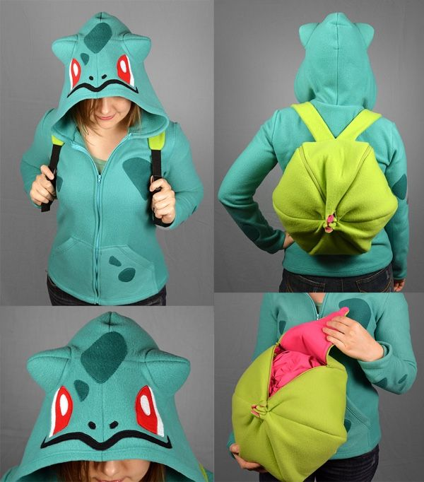 This Bulbasaur Backpack Was Fully Trained To Hold All Your Stuff