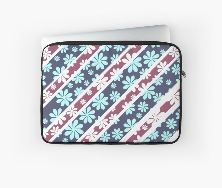 Keep your #laptop safe with a floral #sleeve #technology