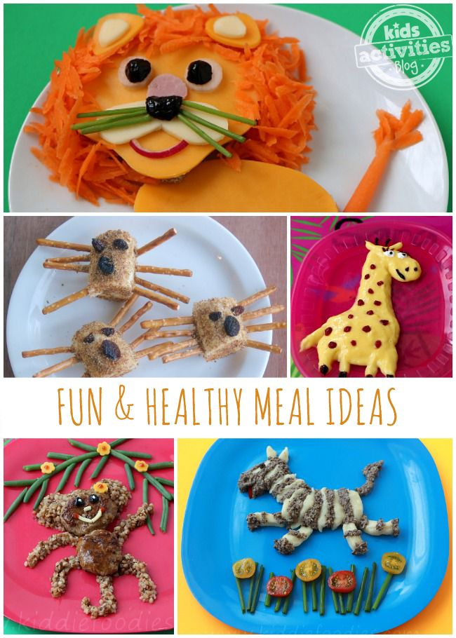15 Healthy Meal Ideas Presented in FUN Ways! - Kids Activities Blog