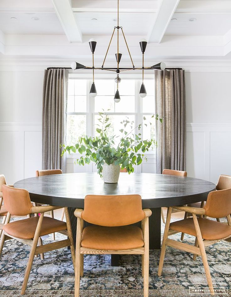 AMBER INTERIORS    Before   After    Client Z to the E to the. 1706 best Dining Rooms images on Pinterest