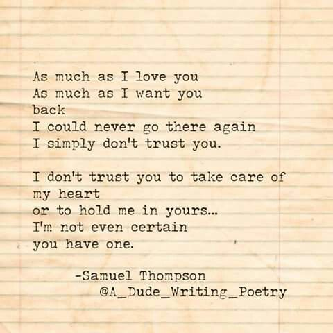 poems about trusting again in a new relationship