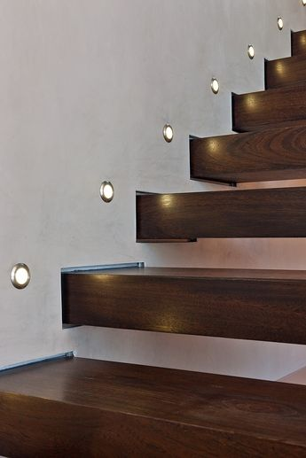 Lighting Basement Washroom Stairs: 56 Best Images About Stair Lighting On Pinterest
