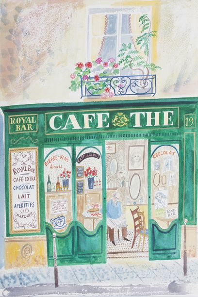 'Cafe The' by Emily Sutton, 2014, Courtesy the artist and Yorkshire Sculpture…