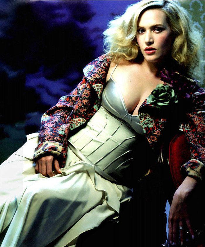 Kate Winslet fotografiada por Raymond Meier, 2004