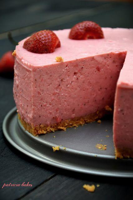 Jogurtowiec truskawkowy | Patricia bakes