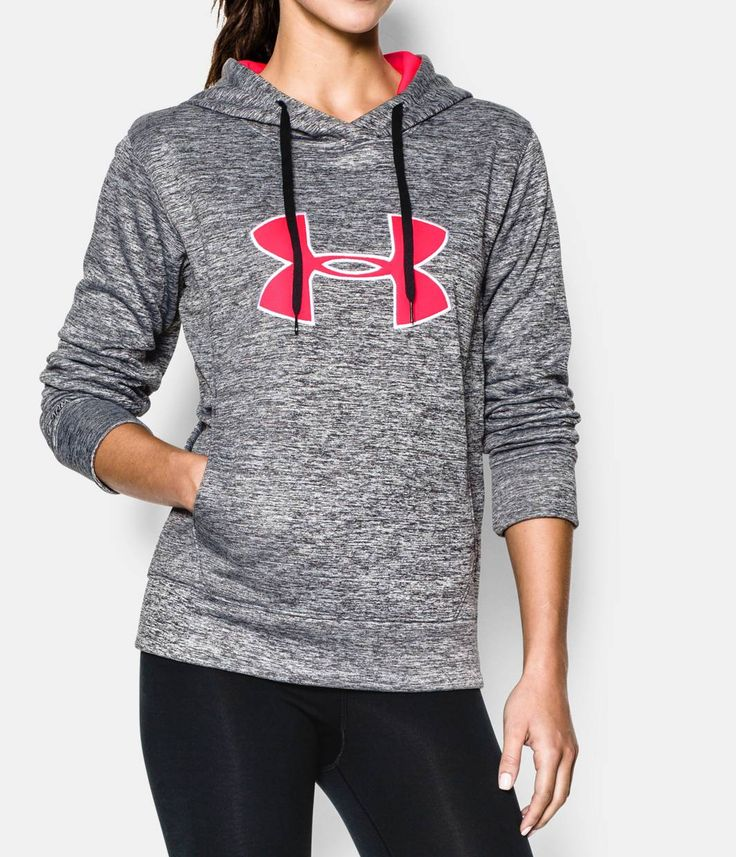 Shop Under Armour for Women's UA Big Logo Applique Twist Hoodie in our Womens Tops department.  Free shipping is available in US.