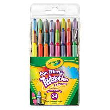 Crayola Fun Effects Twistables Crayons are perfect for an Easter basket