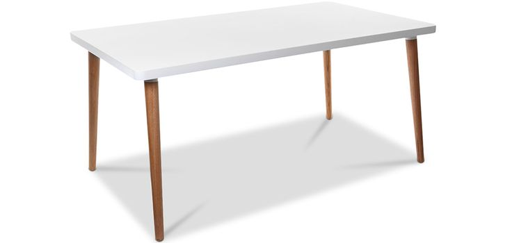 Table à Manger Morgan - Style Scandinave - Bois