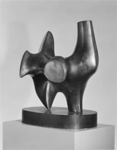 Working Model for Three Way Piece No. 2. Archer     Artist: Henry Moore  Completion Date: 1964