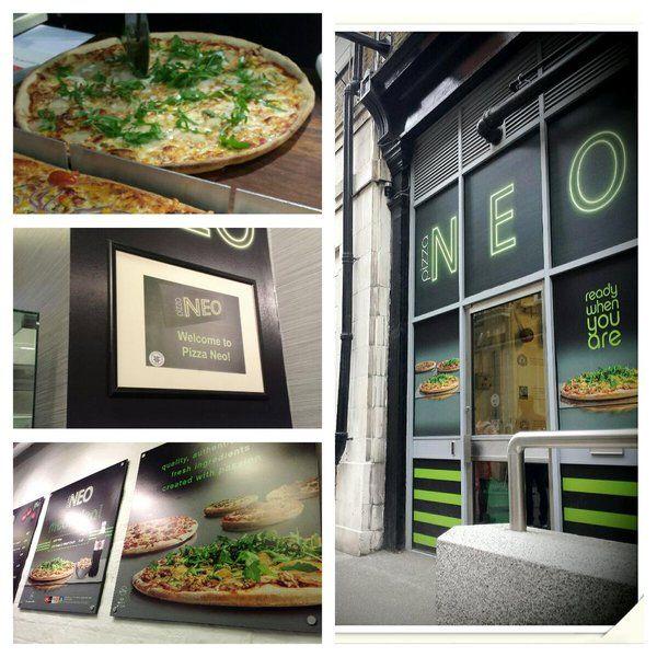 Pizza Neo @ UCL - Bloomsbury. Italian. Pizzas around £3.50