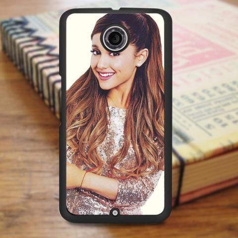 Ariana Grande Cute Smile Singer Nexus 6 Case