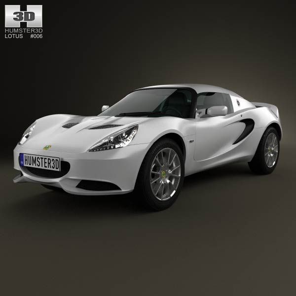 Lotus Elise S 2012 3d model from humster3d.com. Price: $75