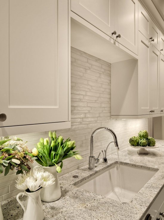 Bianco Romano White Cabinets Design, Pictures, Remodel, Decor and Ideas - page 4