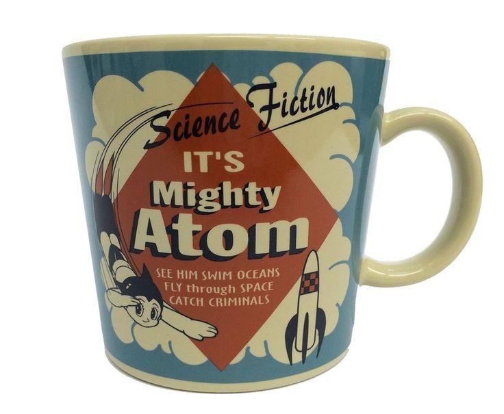 New! Astro Boy Mug Cup Blue Tezuka Osamu anime Japan Limited Free Shipping