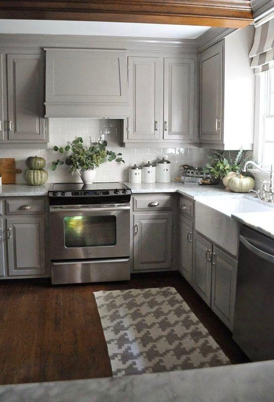 Dove Gray Cabinets