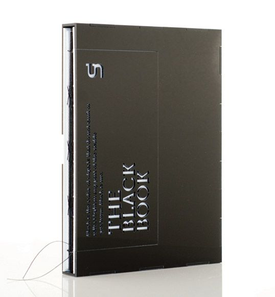 Great Black Package Design The black book