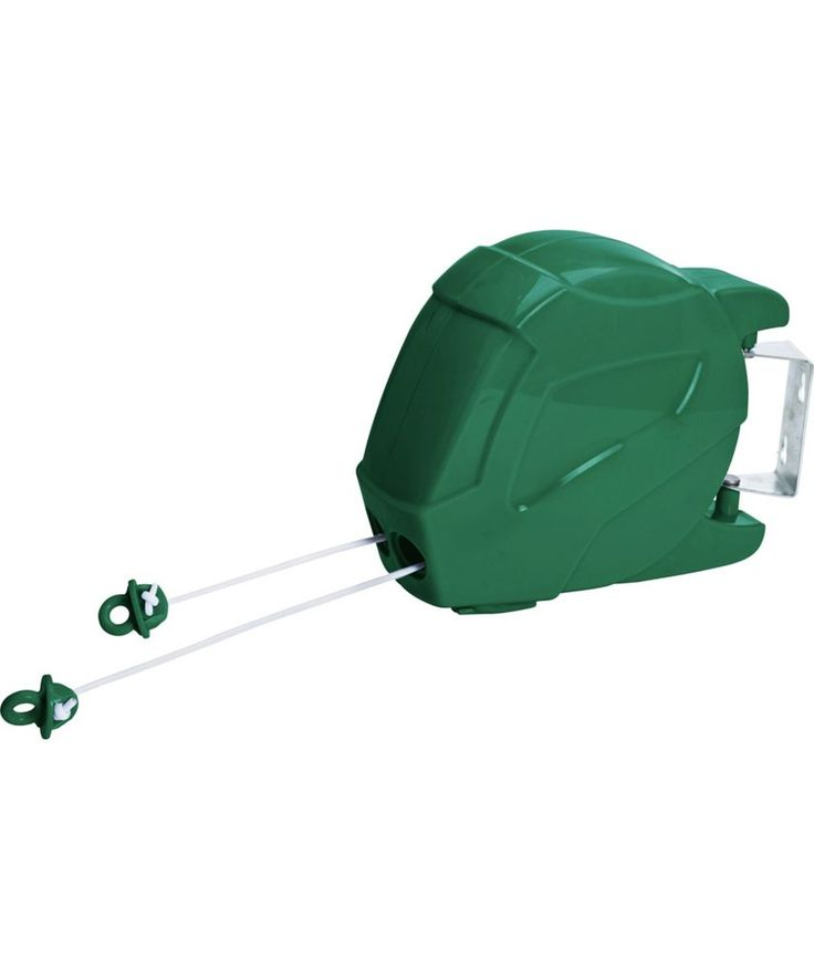 Buy HOME 30m 2 Line Retractable Outdoor Line At Argos.co.uk   Your