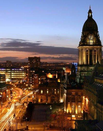 Leeds Town Hall, Leeds, West Yorkshire.