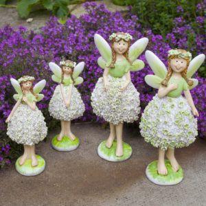 Flower Fairy Garden Ornaments by Gardens2you