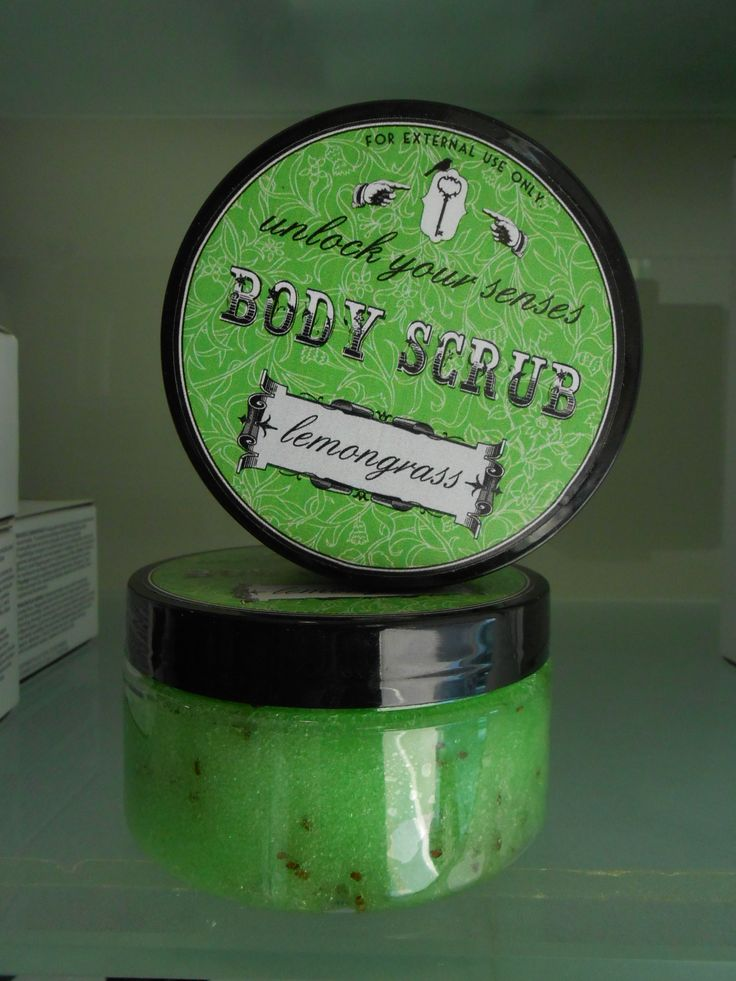 BODY SCRUB-LEMONGRASS