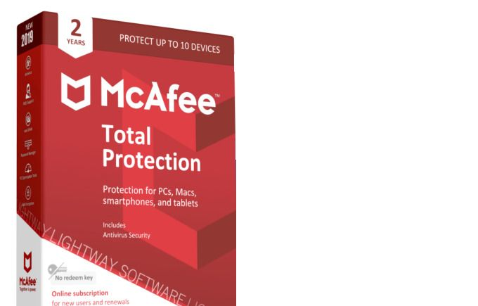 1PC McAfee® Total Protection Key 2019 ✔️2 Year Protection