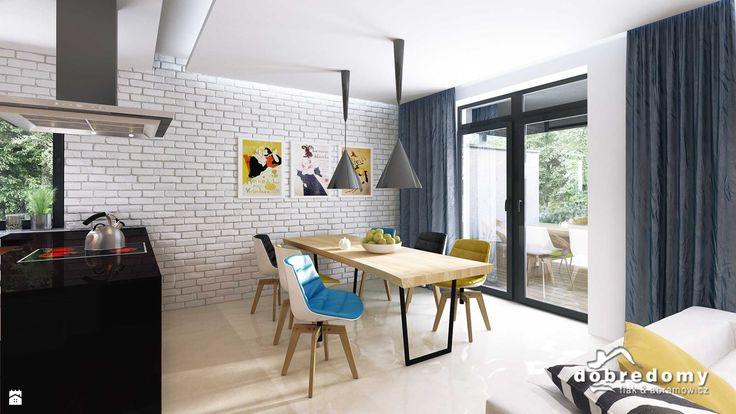 Ofelia, 114,0 M2 - zdjęcie od Pracownia Projektowa Dobre Domy Flak - kchenfronten modern