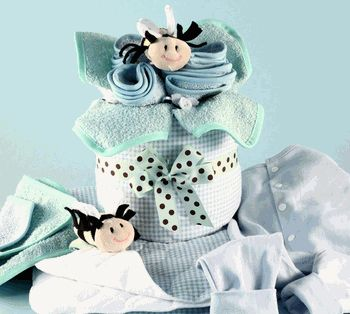 Baby Clothes Bouquet/Centerpiece