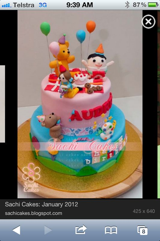 Playschool cake
